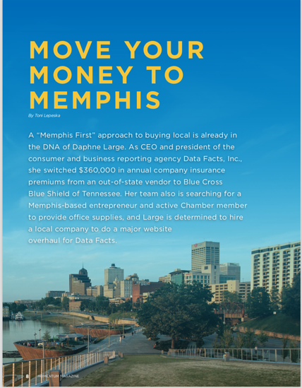 Move Your Money to Memphis