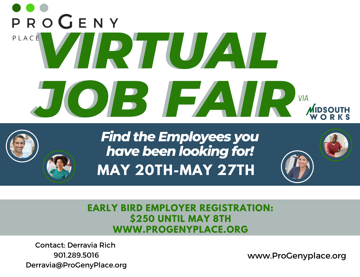 ProGeny Place Virtual Job Fair-Employer-Pg1